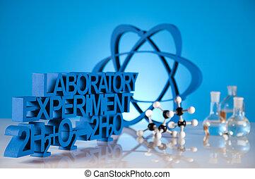 investigación, y, experimentos