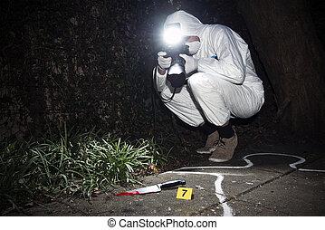 investigador, forensics