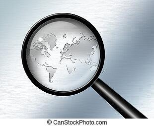 investigare, globale, astratto
