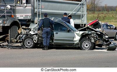 Investigating Accident