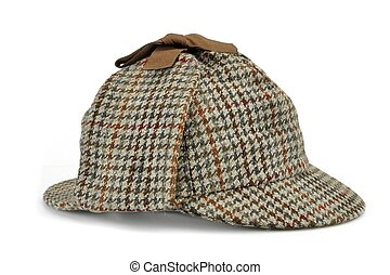 Investigation Concept With Sherlock Holmes Hat Famous As...