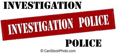 Investigation police