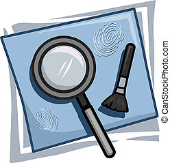 Investigator Icon - Illustration of Icons Representing...