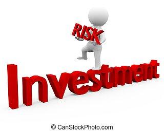 investimento, e, risco