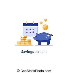 investimento, financeiro, banco, período, superannuation,...