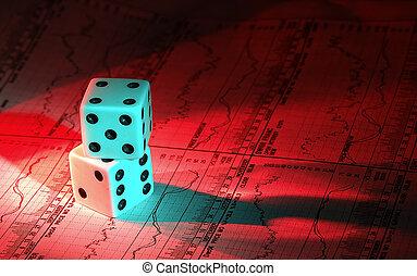 investimento, gamble