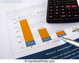 investimento, grafico