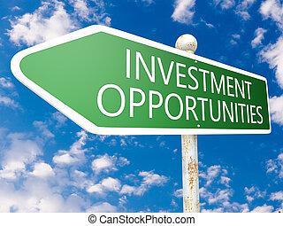 investimento, opportunità