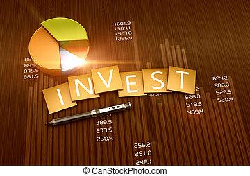 investimento, relatório