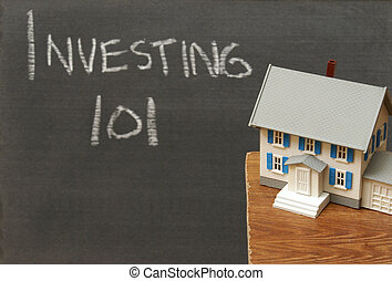 Investing 101 - A conceptual image related to investments in...