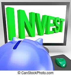 investir, croissance, spectacles, richesse, moniteur
