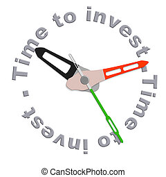 investir, tempo