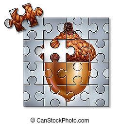 investire, puzzle