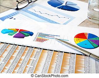 investissement, diagrammes