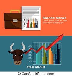 investissements, marché financier
