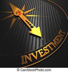 investment., affär, bakgrund.