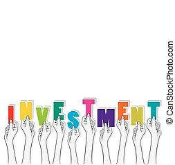 investment banner concept design