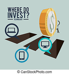 investment design - investment graphic design , vector...