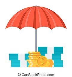Investment Insurance Concept