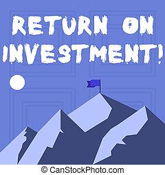 investment., montañas, utilizado, regreso, empresa / negocio, banner., foto, actuación, tiempo, evaluar, día, escritura, nota, eficiencia, bandera, medida, showcasing, sombra, perforanalysisce, inversión, indicar