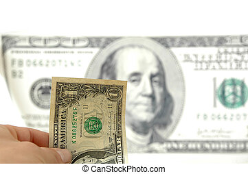 Investment opportunities - One dollar in hand, 100 dollar...