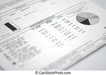 Investment Paperwork