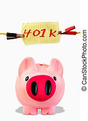 investment., piggy bank