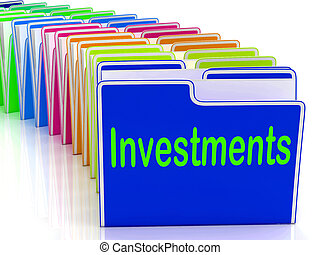 Investments Folders Show Financing Investor And Returns -...