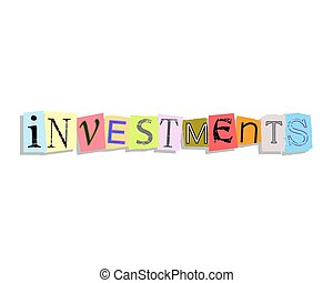 Investments Paper Letters