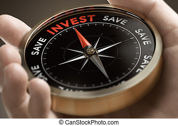 Investor concept, investment strategy.