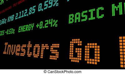 Investors Go From Overoptimistic to Sort of Pessimistic stock ticker