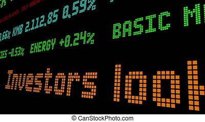 Investors look beyond big blue chips