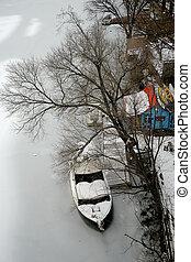invierno, en, washington, cc