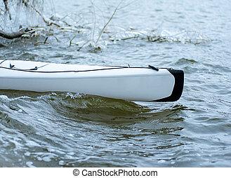 invierno, kayaking, en, el, río, en, ucrania, 04