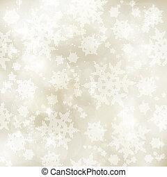 invierno, tono, patrón, sepia, suave, navidad, borroso