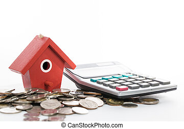 invierta, y, depósito, dinero, para, su, propiedad