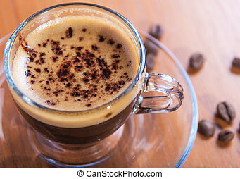 invigorating fresh coffee