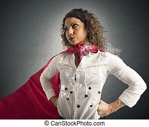 invincible, femme affaires