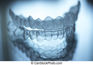 Invisible dental teeth brackets aligners braces retainers - ...