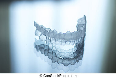 Invisible dental teeth brackets aligners braces retainers -...