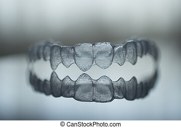 Invisible dental teeth brackets tooth plastic braces -...