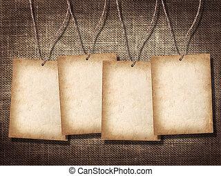 invitación, tarjetas, cuatro, o, felicitación