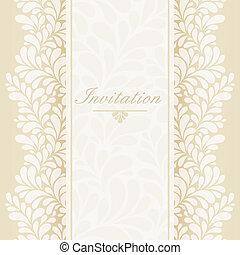 invitation, årsdag card