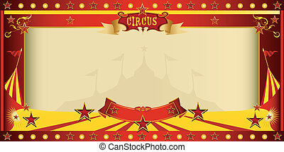 invitation big top circus - A circus vintage invitation for...