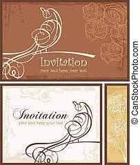 Invitation Bird 01