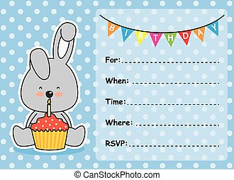 Invitation Card Birthday boy