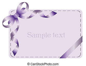 Invitation card for holiday or engaged party. Vector