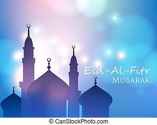 Muslim festival eid al fitr eid mubarak vector eps vector invitation card for muslim eid al fitr holiday m4hsunfo