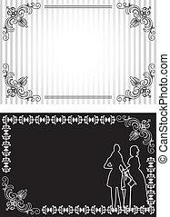 Invitation card set