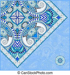 invitation card with ethnic background, royal ornamental design